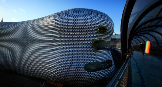 Bullring Shopping Centre in Birmingham. (Christopher Furlong/Getty Images)
