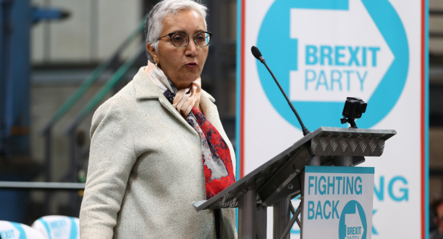 Brexit Party candidate Alka Sehgal Cuthbert criticised ...