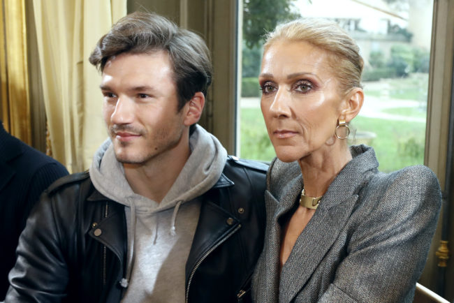 Canadian singer Celine Dion and Spanish dancer Pepe Munoz