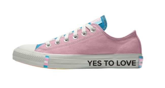 Converse releases new Pride collection