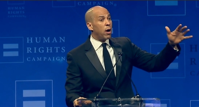 Cory Booker: Trump administration's anti-LGBT policies are 'moral vandalism'