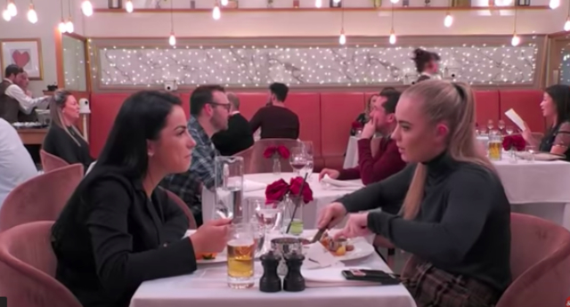 The new season of First Dates commenced on April 16 with a very awkward date. (April 16)