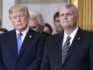 President Donald Trump with Franklin Graham during a ceremony as the late evangelist Billy Graham lies in repose at the U.S. Capitol, on February 28, 2018 in Washington, DC. (Shawn Thew-Pool/Getty)