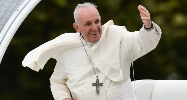 Pope Francis. (BEN STANSALL/AFP/Getty)