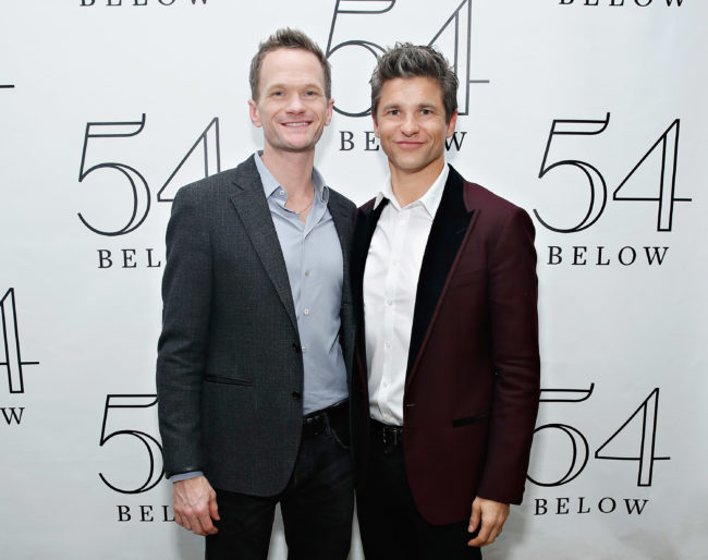 Neil Patrick Harris husband David Burtka