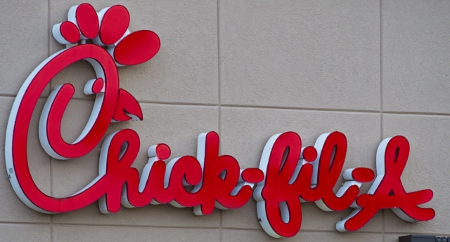 "The city of San Jose in California wants to make the Chick-fil-A opening in its airport ""the gayest in the country."" (PAUL J. RICHARDS/AFP/Getty)"