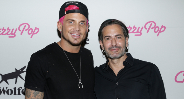 Newly weds: Char Defrancesco and fashion designer Marc Jacobs. (Getty Images)