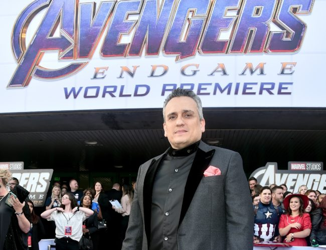 """Director Joe Russo attends the Los Angeles World Premiere of Marvel Studios' """"Avengers: Endgame"""" at the Los Angeles Convention Center on April 23, 2019 in Los Angeles, California."""