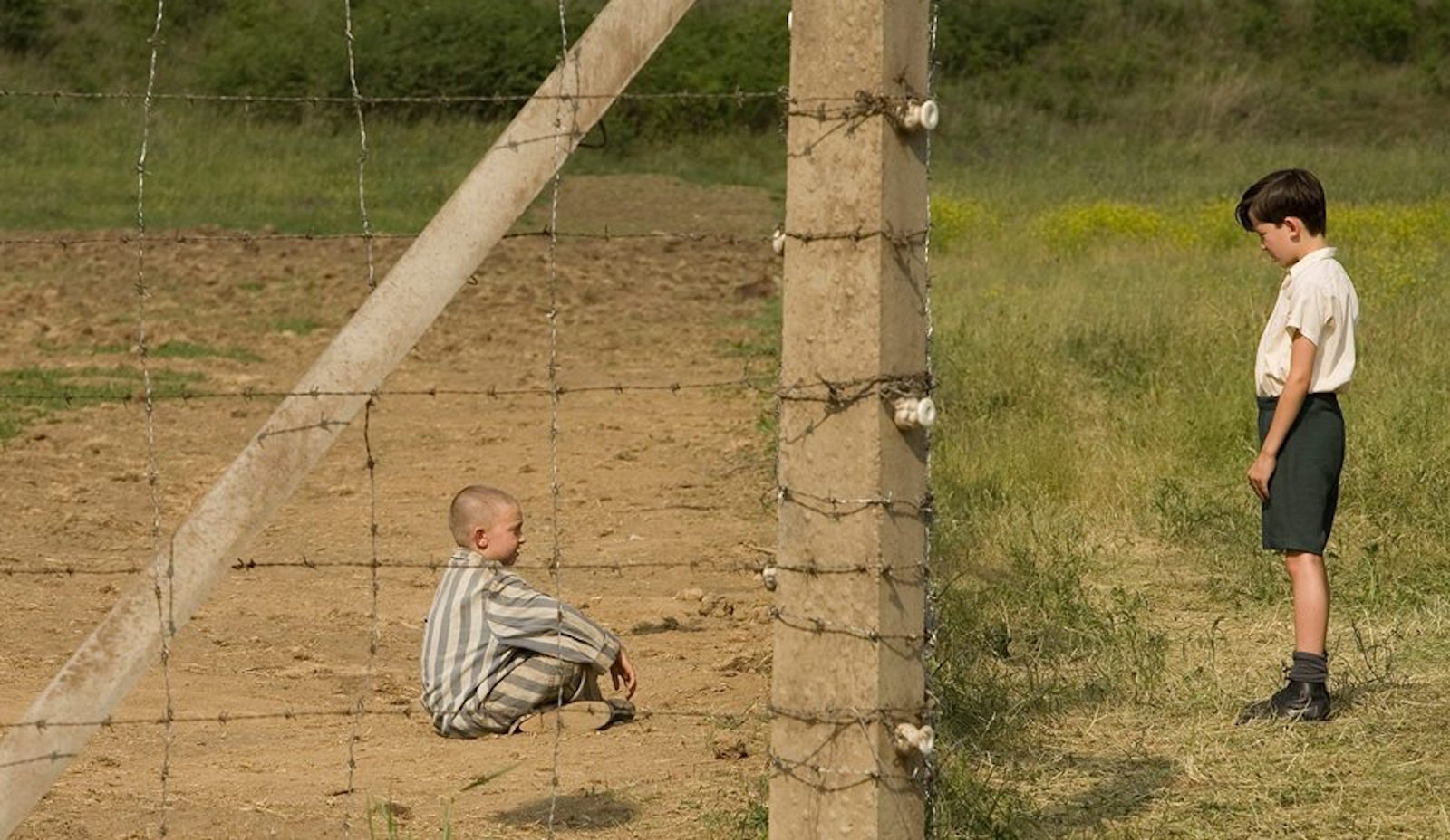 Shot from The Boy in the Striped Pyjamas film.