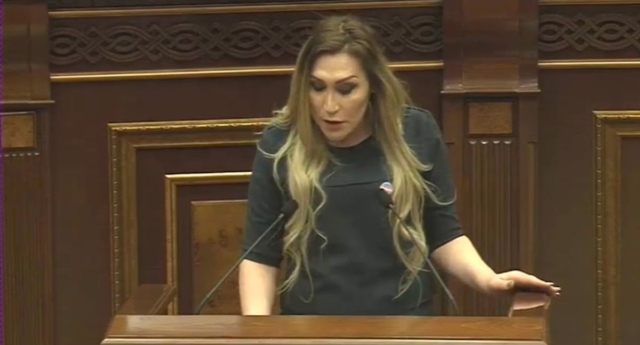 Armenian trans activist receives death threats after parliamentary speech