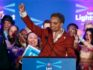 Chicago mayor elect Lori Lightfoot speaks during the election night party in Chicago, Illinois on April 2, 2019. (KAMIL KRZACZYNSKI/AFP/Getty)
