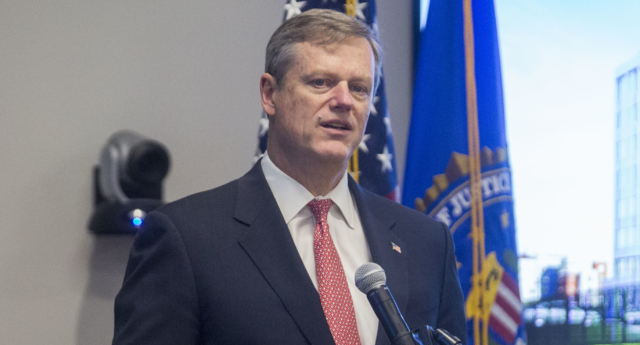 Massachusetts Governor Charlie Baker (Scott Eisen/Getty)