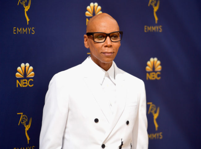 RuPaul attends the 70th Emmy Awards at Microsoft Theater on September 17, 2018 in Los Angeles, California.