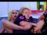 Brook Lynn Heights squeezes out the other Drag Race competition. (Netflix)