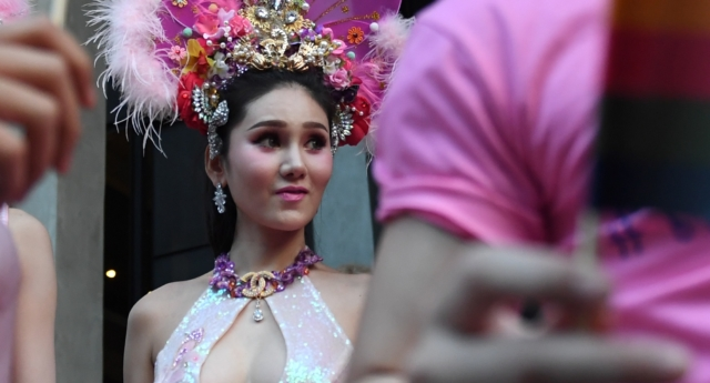Thai trans woman fined by police for see-through dress