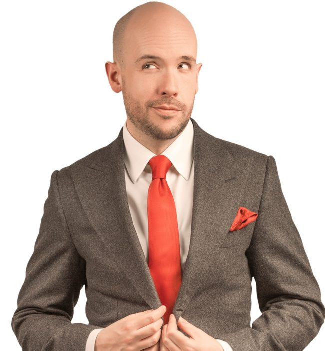 Comedian Tom Allen responds to complaint that he talks about being gay