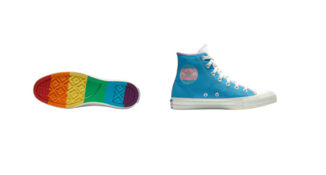 Converse releases new Pride collection that features both rainbow and trans flag designs