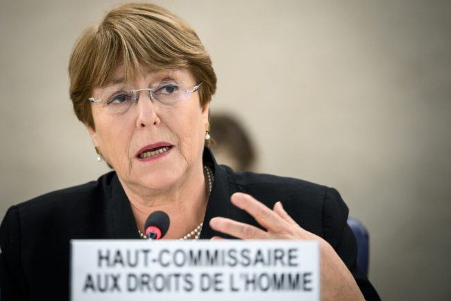 United Nations High Commissioner for Human Rights Michelle Bachelet has condemned the Brunei anti-gay law
