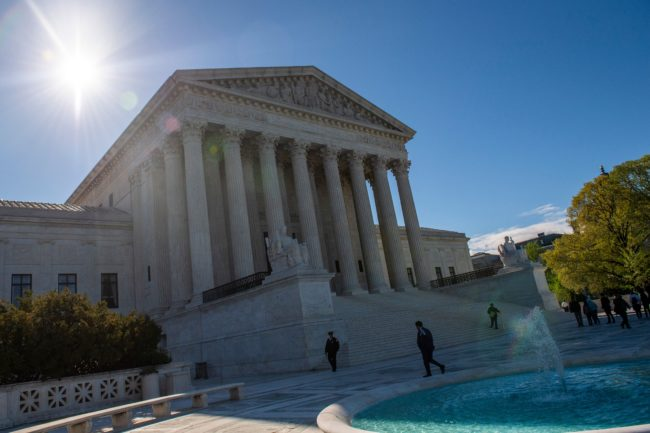 The United States Supreme Court is seen on April 15, 2019 in Washington DC.