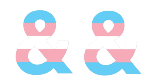 People are changing their profile pictures to this to show support for trans people as Donald Trump's military trans ban comes into effect. (Twitter/GLAAD)