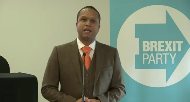 Gay Brexit Party candidate: 'We're not all homophobic racists'