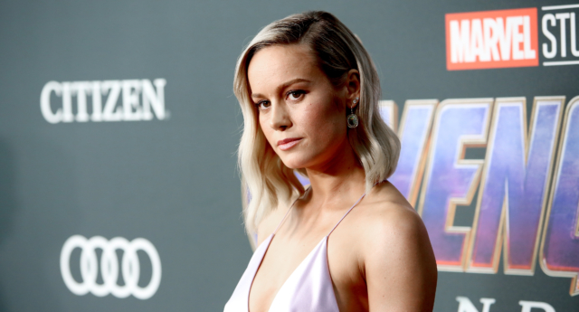 Brie Larson attends the world premiere of Avengers: Endgame. (Jesse Grant/Getty Images for Disney)