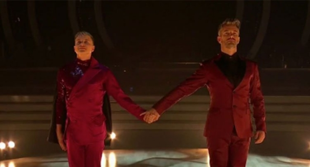 Courtney Act makes Dancing With The Stars history with same-sex dance