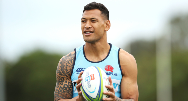 Israel Folau sacked over homophobic social media post