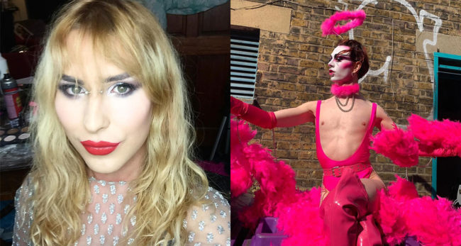 London Trans Pride organisers Lucia Blake and Finn Love