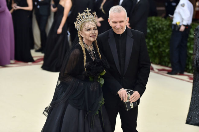 Jean Paul Gaultier to dress Madonna for Eurovision performance