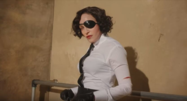 Madonna in the Madame X promotional video