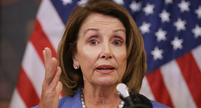 Nancy Pelosi calls US transgender military ban an 'act of cruelty'