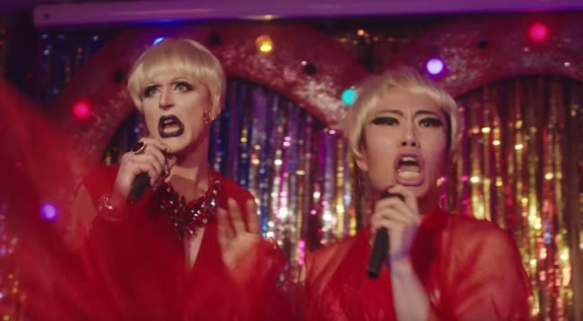 "The drag queens serving their best P!nk looks in the ""Walk Me Home"" video"