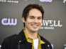 Tyler Blackburn attends the launch of Roswell, New Mexico. (Rodin Eckenroth/Getty Images)