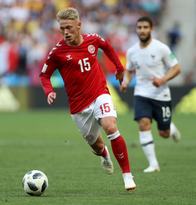 Danish footballer Viktor Fischer slams fans for chanting gay slurs