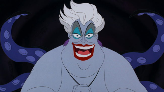 Queer-coding was used in the creation of The Little Mermaid villain Ursula.