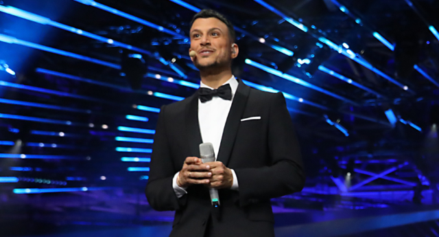Gay Eurovision host Assi Azar donates fee to LGBT youth charity
