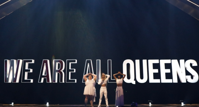 French Eurovision star Bilal Hassani declares 'we are all queens' during performance