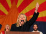Republican Debbie Lesko celebrates her victory during an election night event for Arizona GOP candidates on November 6, 2018 in Scottsdale, Arizona. (Ralph Freso/Getty)
