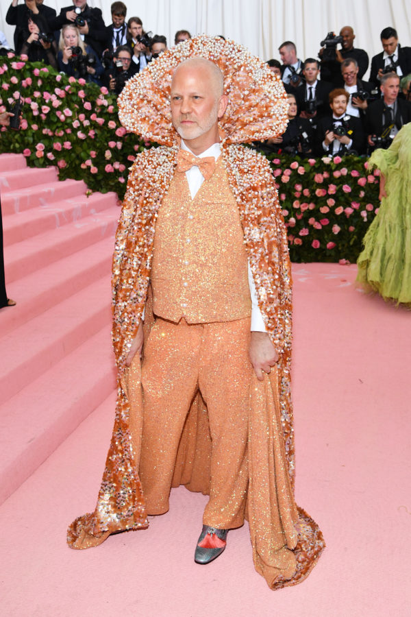 Ryan Murphy wore a Christian Siriano outfit.