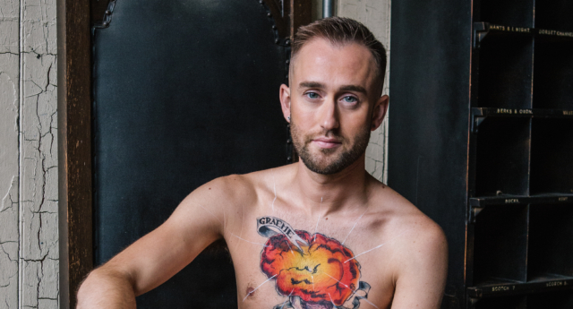 Graeme lives with HIV. He says it doesn't need to be isolating. (Gilead)
