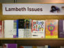 Books for sale are displayed at the Lambeth Conference on July 21, 2008 in Canterbury, England. (Peter Macdiarmid/Getty)
