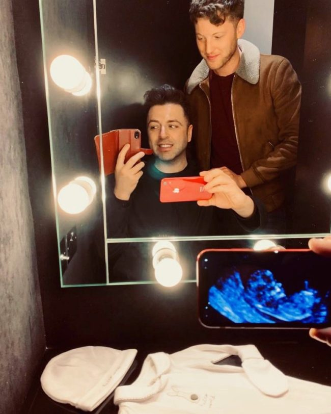 Westlife singer Mark Feehily shared the news on social media