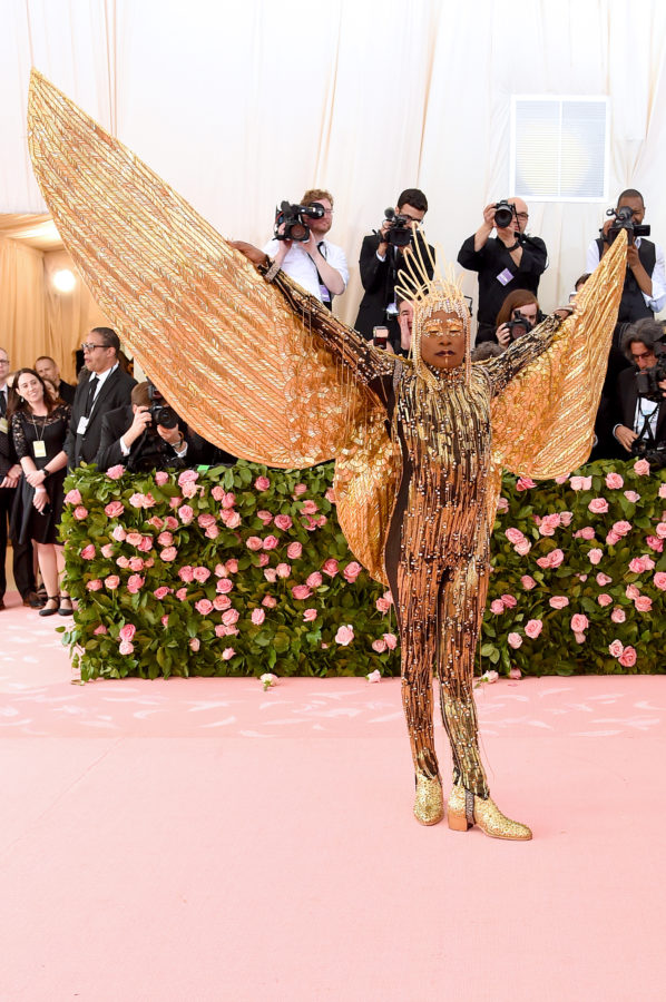 Billy Porter on red carpet at Met Gala