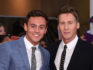 Tom Daley with his husband Dustin Lance Black (Gareth Cattermole/Getty)