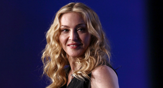 Madonna has been urged to boycott the Eurovision Song Contest with a parody of Papa Don't Preach (Win McNamee/Getty)