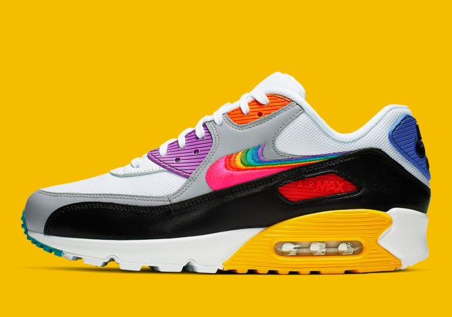 best service 68a16 77800 Nike unveils new rainbow-coloured Air Max 720