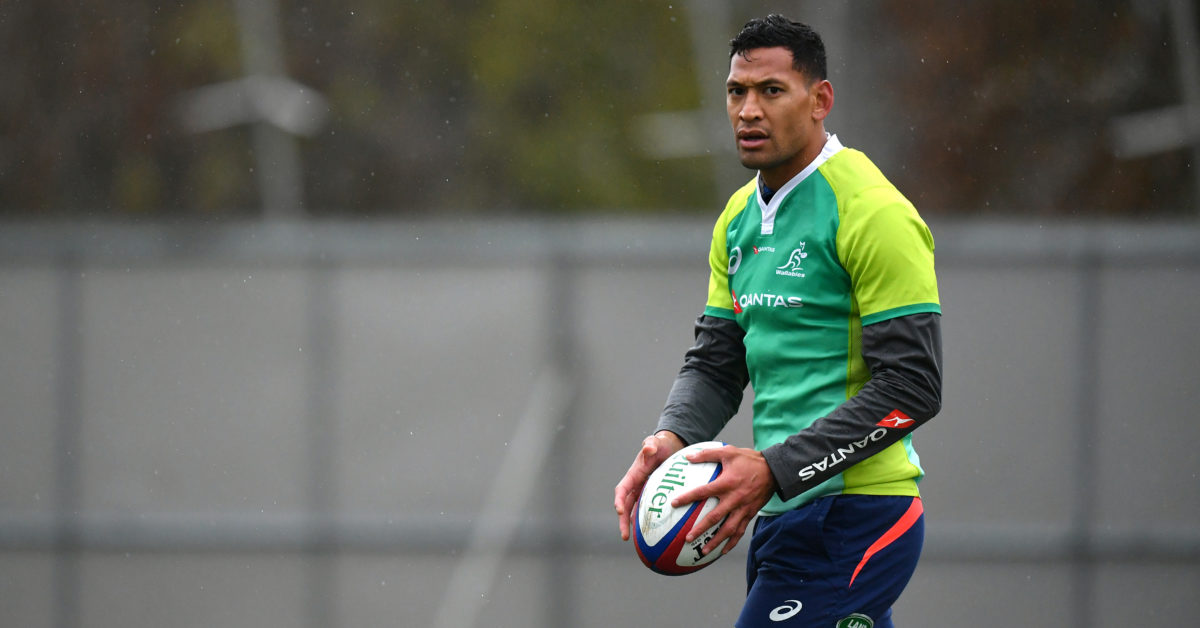 Ian Roberts condemned Israel Folau's anti-gay remarks as harmful to LGBT+ youth. (Dan Mullan/Getty Images)