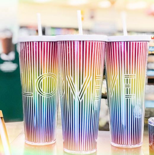 Starbucks unveils rainbow coloured cup for Pride month