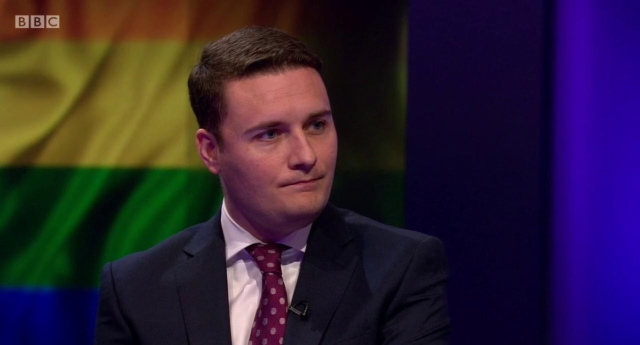 Wes Streeting on Newsnight (BBC)